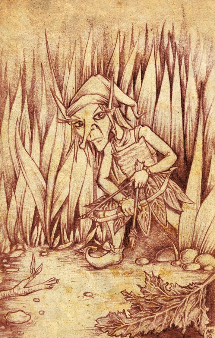 Grass Elf by hawanja