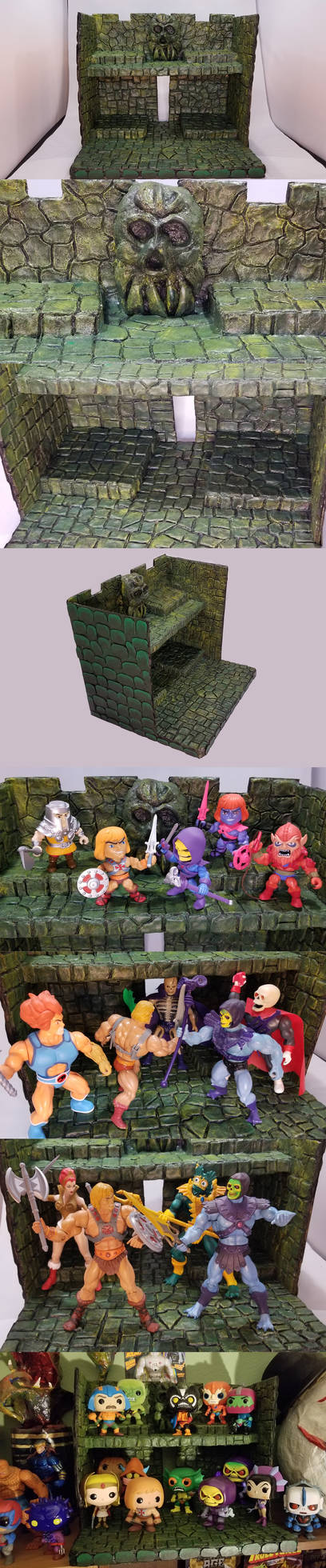 Masters Of the Universe Custom Backdrop