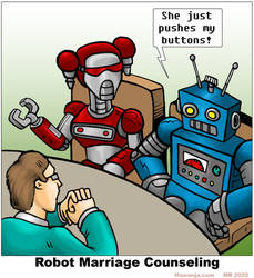 Robot Marriage Counseling