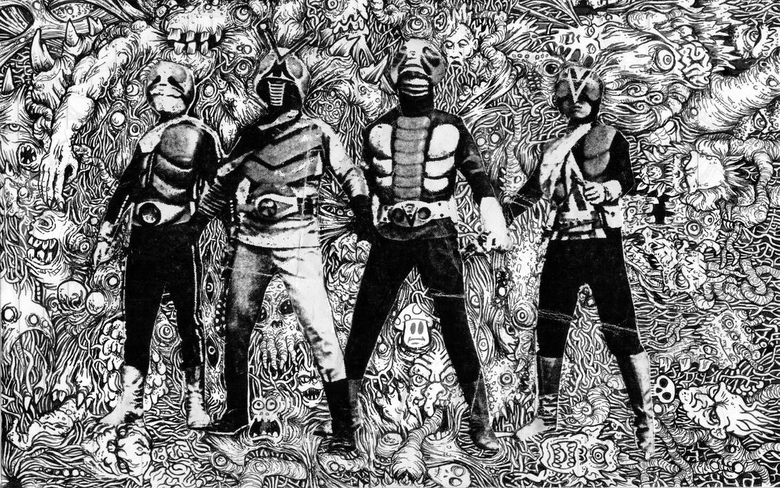 The Four Kamen Riders