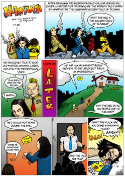 Hawanja and the Golden Taco of Tajunga page 14
