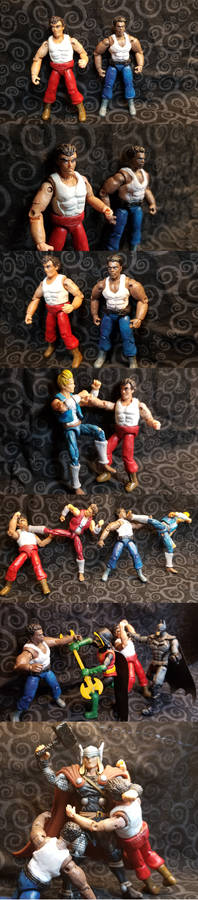 Double Dragon - Wiliams custom figure