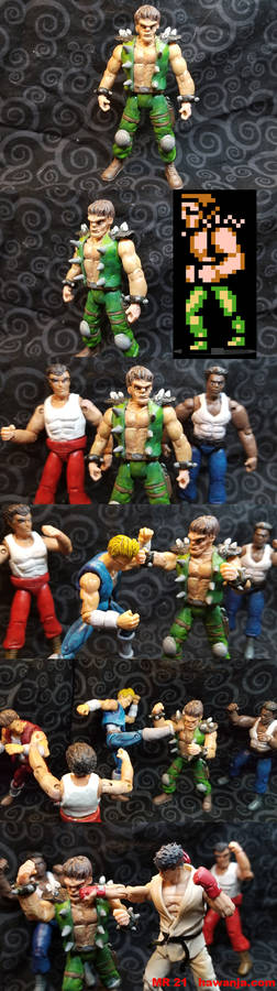 Double Dragon - Roper custom figure