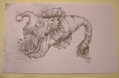 Monster Anglerfish convention sketch