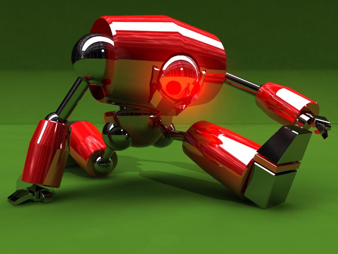 Crazy Robot by lejoueurcon