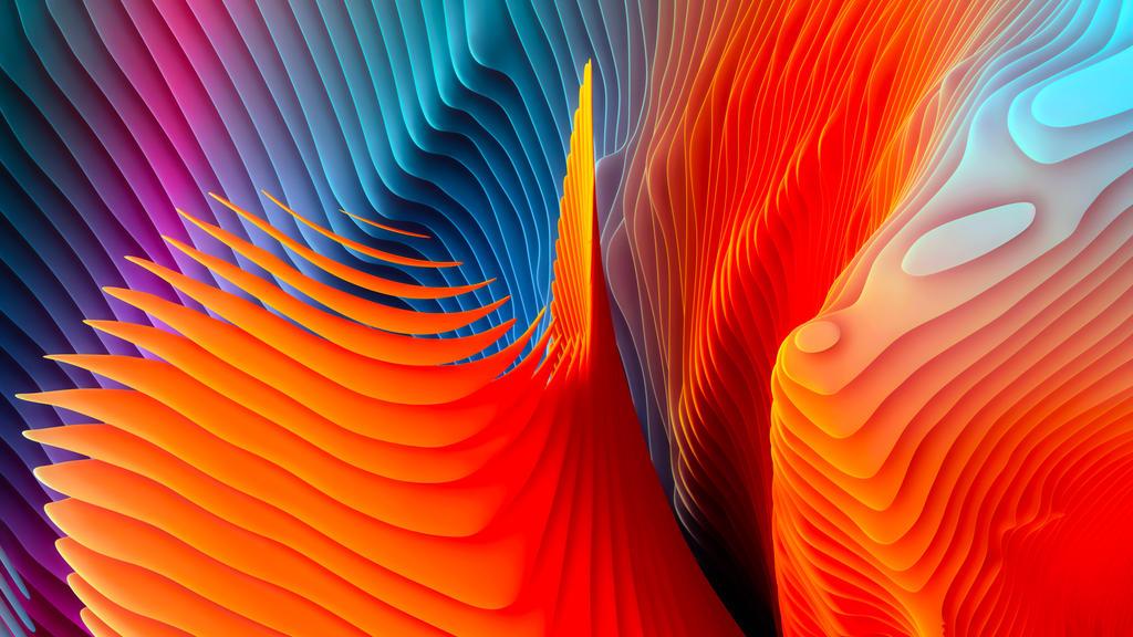 Apple Retina Abstract Shapes by xXMrMustashesXx