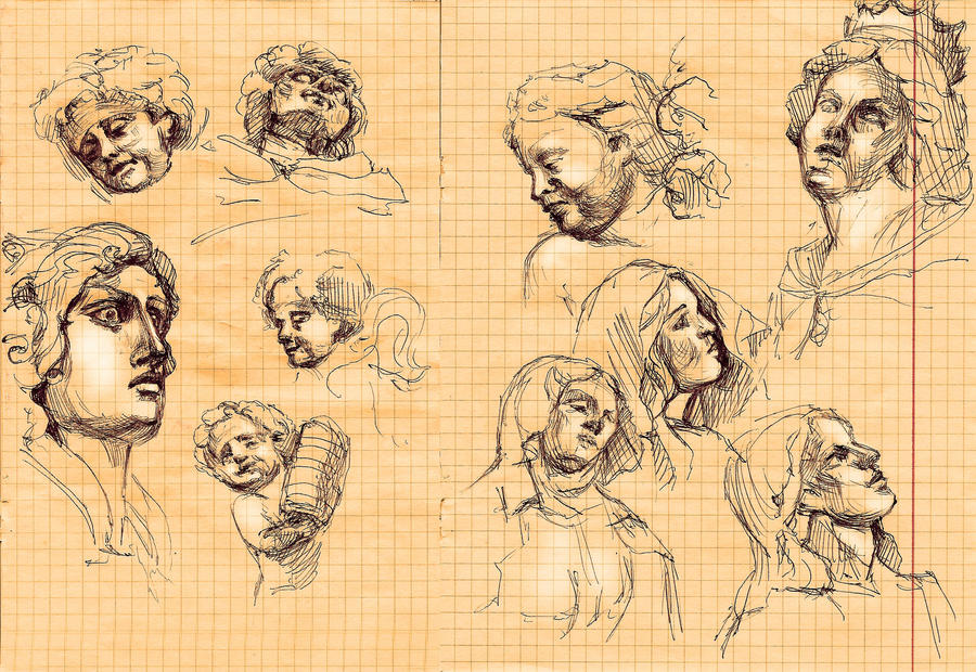 sketchy classes by DariaGALLERY