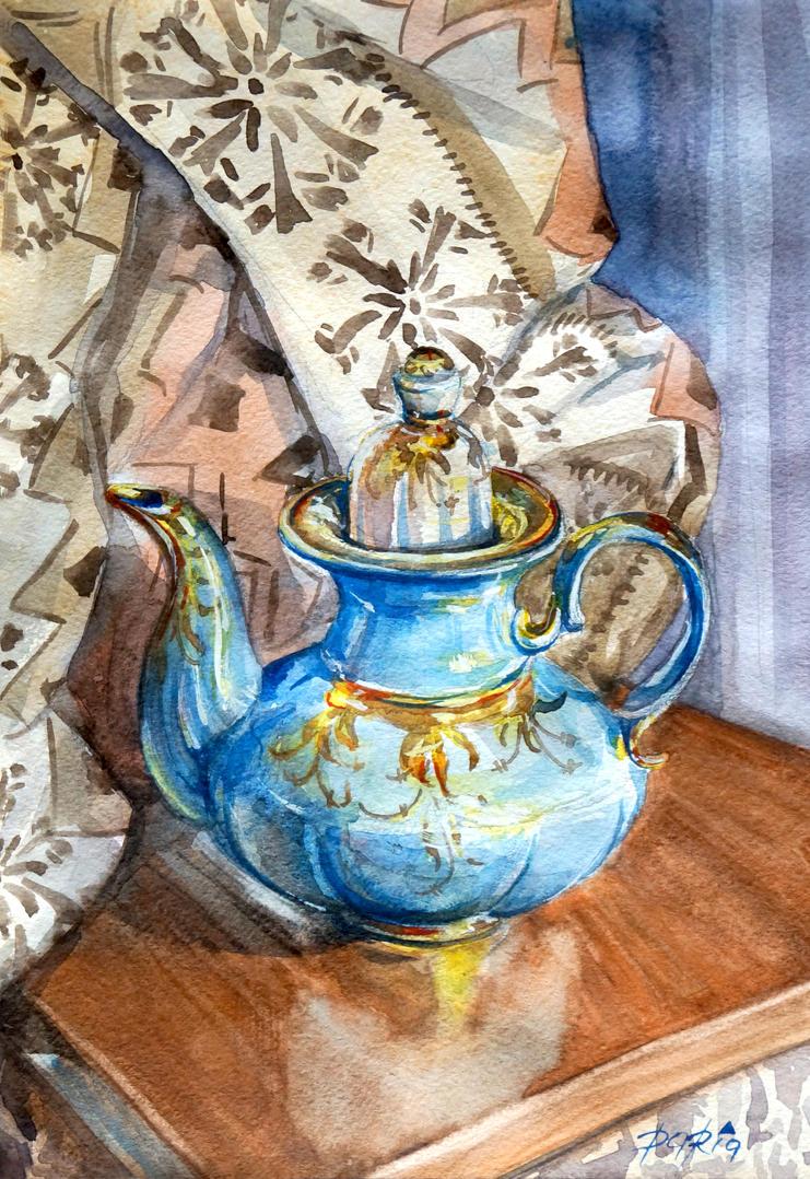 coffy pot by DariaGALLERY