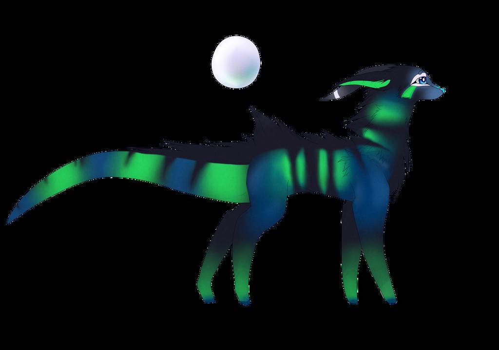 Dragon-dog thing by Dakalebii