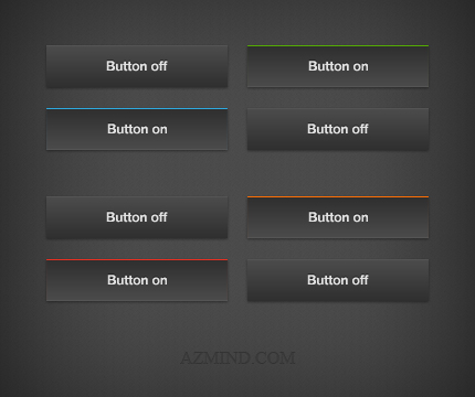 how to work button menu in css w3school