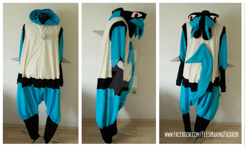 Lucario Kigurumi by NightSky1357