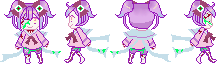 Ophelia Sprite Sheet by lost-lillith