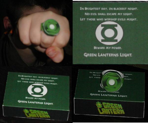 Green Lantern Power Ring by paperart
