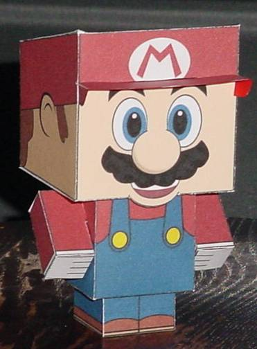 Mario Cubee by paperart