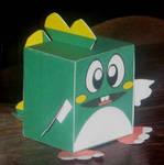Bubble-Bobble Papercraft