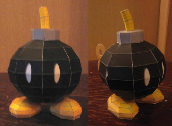 B-Bomb by paperart
