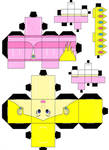 Peach Cubeecraft