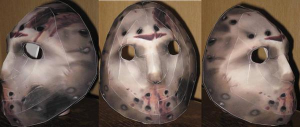 Jason Vorhees Hockey Mask by paperart