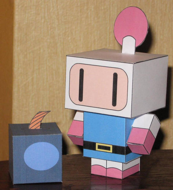 Bomberman Cubee by paperart