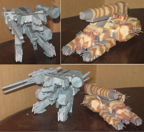 Metal Gears by paperart