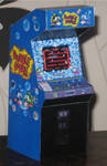 Bubble-Bobble Game Cabinet