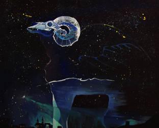 The Night Sky by yanadhyana