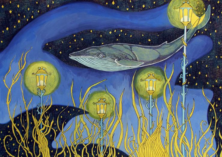 Underwater Lights by yanadhyana
