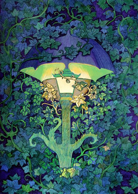 Garden Lantern by yanadhyana