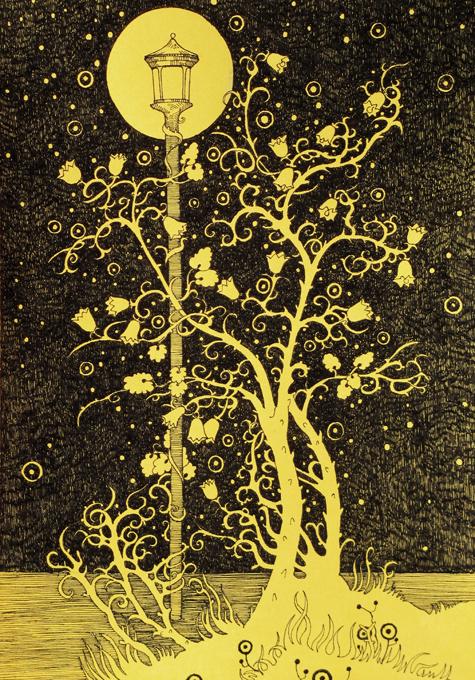 Bluebells Tree by yanadhyana