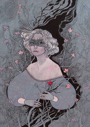 White Lady by yanadhyana