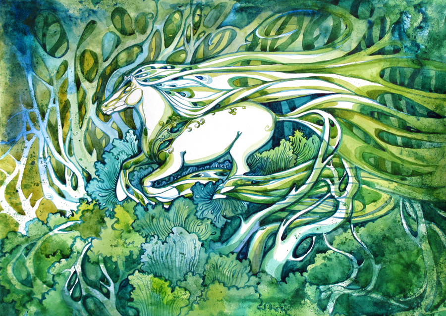 Forest Horse by yanadhyana