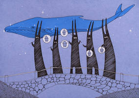 Follow the Blue Whale by yanadhyana