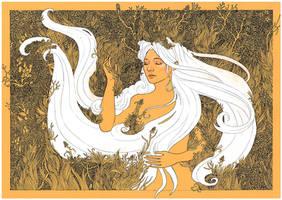 Whispering Grass by yanadhyana