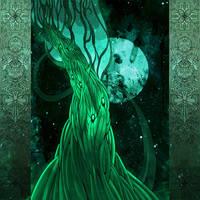 Evergreen Tree by yanadhyana
