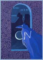 Night Window by yanadhyana
