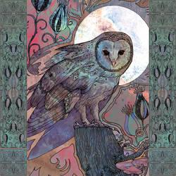 Owl by yanadhyana