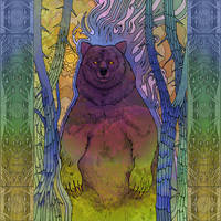 Bear by yanadhyana