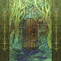 The Secret Door by yanadhyana