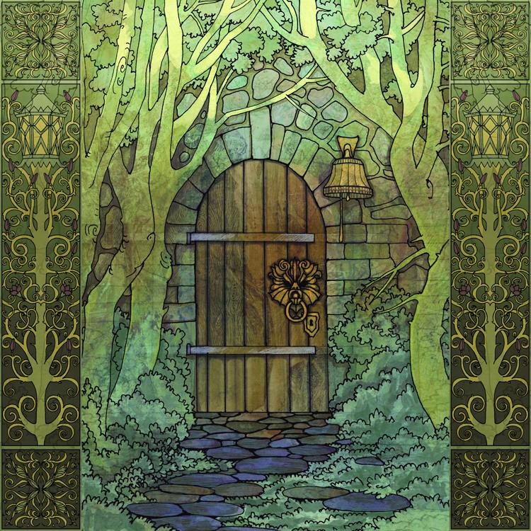 The Secret Door by yanadhyana ... & The Secret Door by yanadhyana on DeviantArt