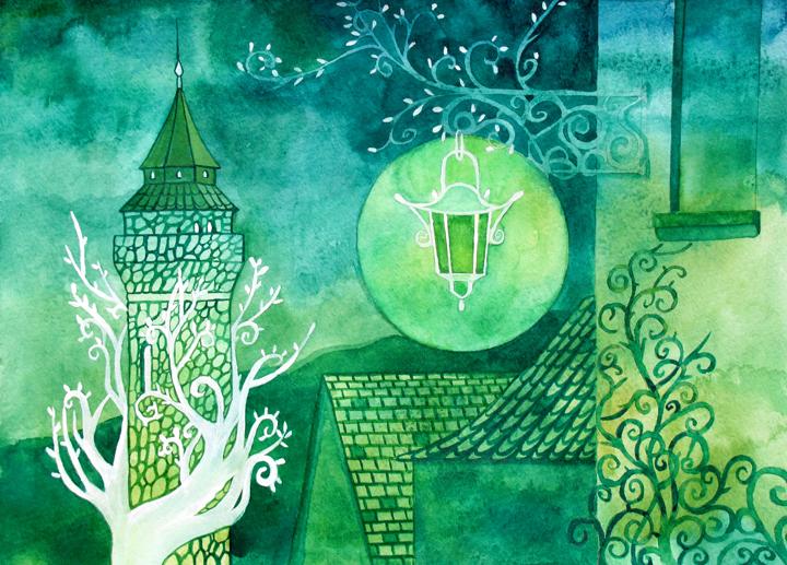 Green Lantern Street by yanadhyana