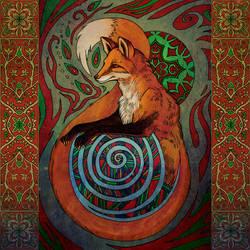 Red Fox by yanadhyana