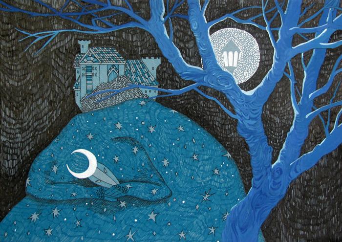 When the Sky is Sleeping by yanadhyana