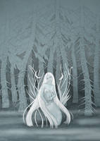 Ghostly Siren by yanadhyana
