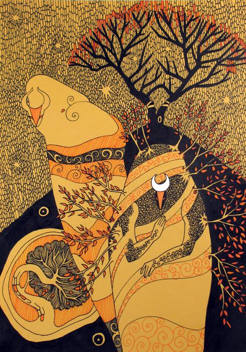 Autumn Spirits by yanadhyana