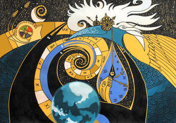 Distorting Time and Space by yanadhyana