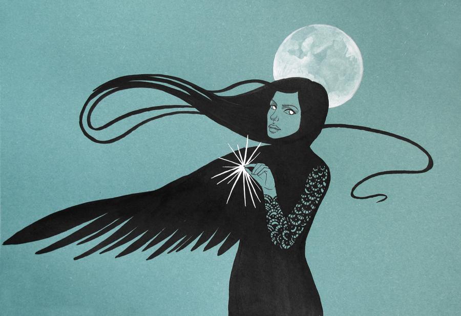 Moon Transformation by yanadhyana