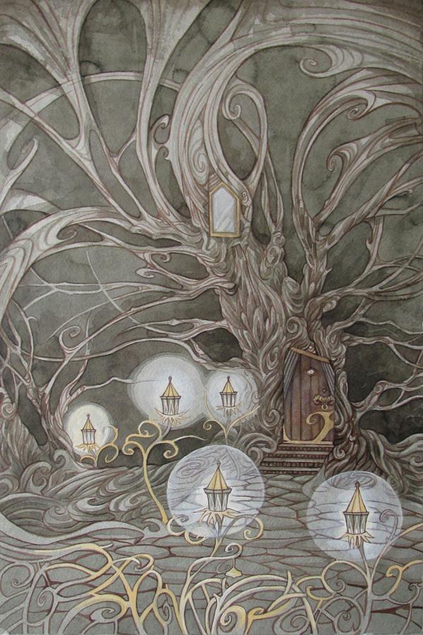 Tree House II by yanadhyana