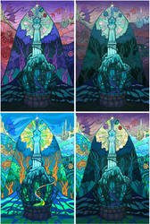 Stained-glass Windows of Marigrot by yanadhyana