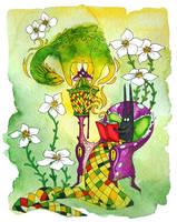 Home Reading II by yanadhyana