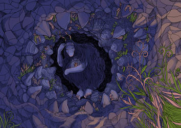 The Cave by yanadhyana